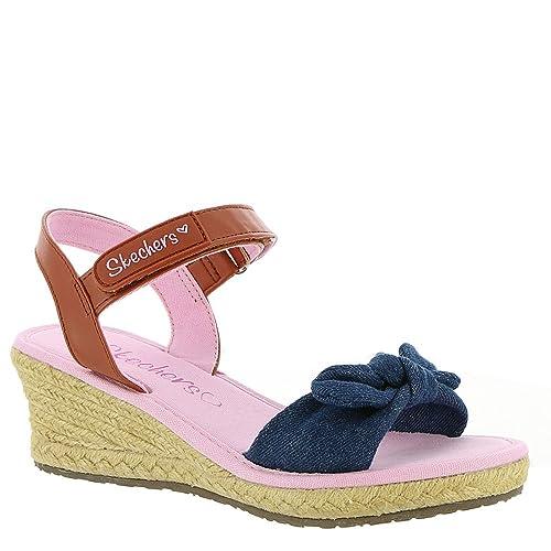 5aa5934a7ee7 Amazon.com  Skechers Kids Womens Tikis - Denim Dolls 86962L (Little Kid Big  Kid)  Shoes