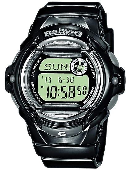 Casio Baby G digital Niños Reloj De Pulsera Negro BG de 169r de 1er: Amazon.es: Relojes
