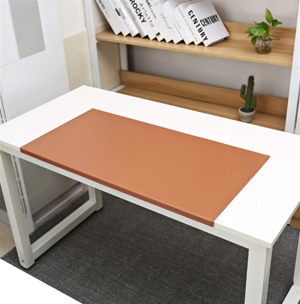 SK Studio Schreibtischunterlage mit Kantenschutz Wasserdichte PU Leder PC und Laptop Schwarz 80x40cm Rutschfeste mit Kantenverriegelung Mausunterlage f/ür Computertastatur