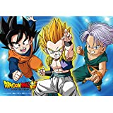 100-piece jigsaw puzzle Dragon Ball super-secret force! Super Saiyan Gotenks large piece (18.2x25.7cm)