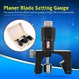 2Pcs Magnetic Planer Blade Setting Jig Gauge Setter Woodworking Tool