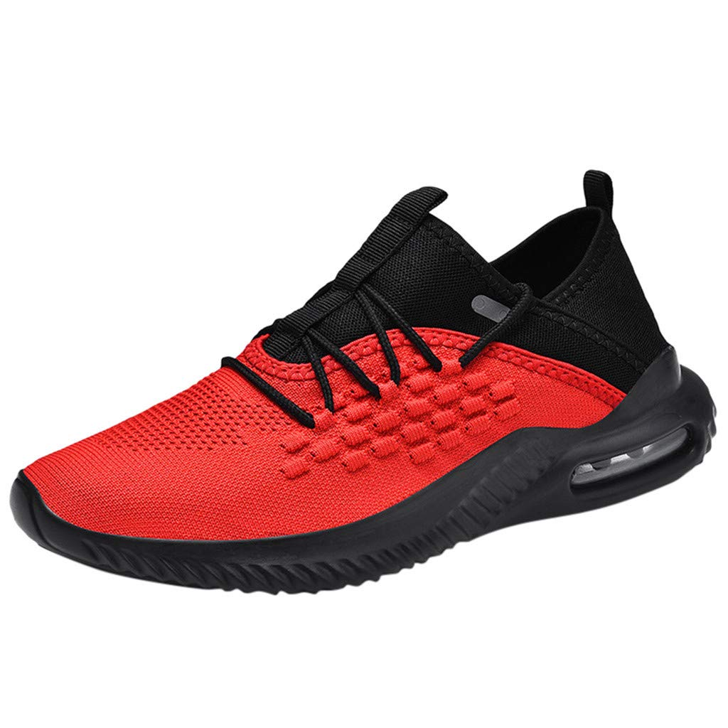Clearance! DDKK Men's Knit Breathable Casual Sneakers Lightweight Athletic Tennis Walking Running Shoes Athletic Sports Big Size Shoe