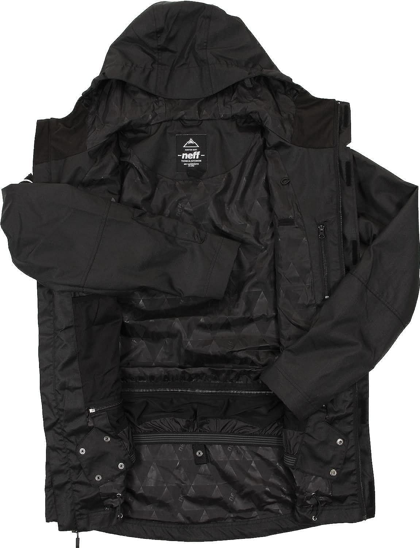 de27e26443d Amazon.com  NEFF Corporal Jacket - Men s Black - Size XXL  Clothing