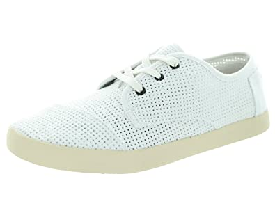 a2d139fc1c2 TOMS Women s Canvas Perforated Paseos