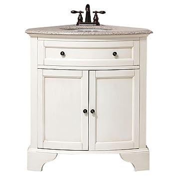 Corner Bathroom Vanity Cabinet.Home Decorators Collection Hamilton Corner Bath Vanity 35 Hx31 Wx23 D Ivory