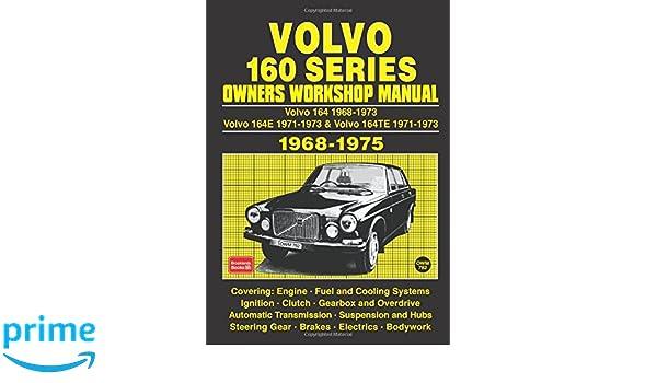 volvo 160 series 1968 75 workshop manual workshop manual volvo rh amazon com