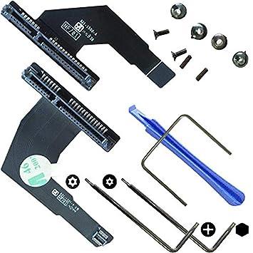 OLVINS Disco Duro Cable 821-1501-A 821-1500-A Kit de actualización ...