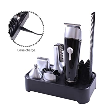 Solimpia Surker 5 in 1 Rechargeable Cordless Waterproof Grooming ...