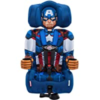 KidsEmbrace Marvel Avengers Captain America 2-in-1 Harness Booster Car Seat