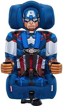 KidsEmbrace Marvel Avengers 2-in-1 Harness Booster Car Seat