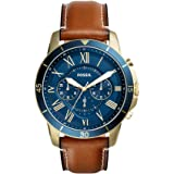 Fossil Analog Blue Dial Men's Watch-FS5268