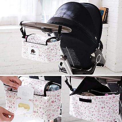 Sac a Dos pour Poussette de Bande Dessinée pour Bébé Transport Portable  Multifonctionnel Poussette Suspendu Étanche 36093a74d5d