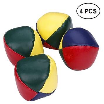 Astonishing Amazon Com Skedee 4Pcs Juggling Balls Set For Beginners Dailytribune Chair Design For Home Dailytribuneorg