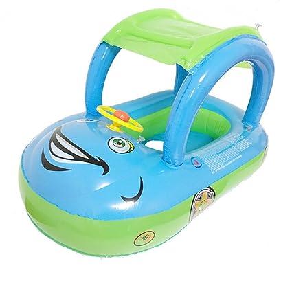 Amazon.com: yangxing bebé inflable Flotador Asiento Barco ...