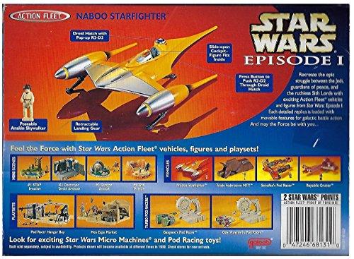 Amazon.com: 1 X Star Wars Episode I Action Fleet - Naboo ...