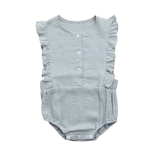 ce54e771f9a Amazon.com  Baby Romper for Girls