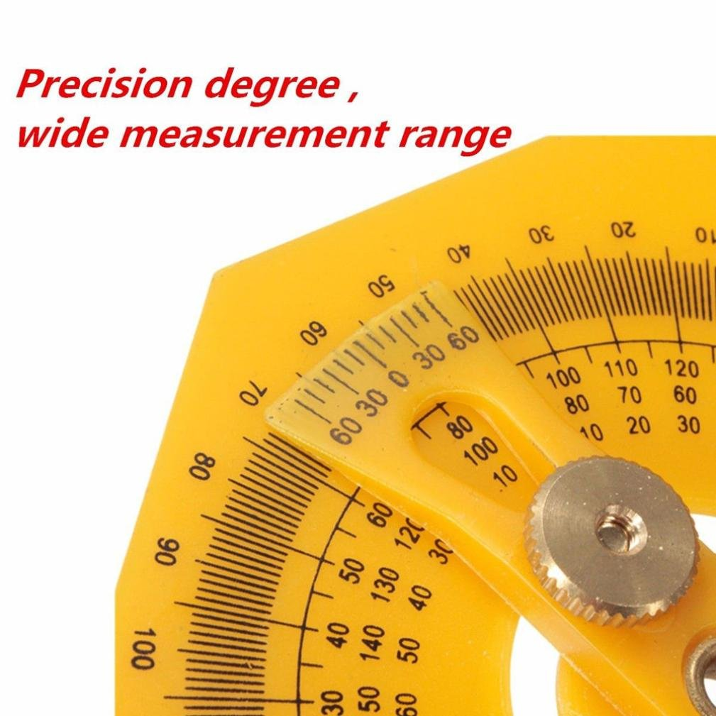 Ruler,SUPPION Angle Engineer Protractor Finder Measure Arm Ruler Gauge Tool by SUPPION (Image #3)