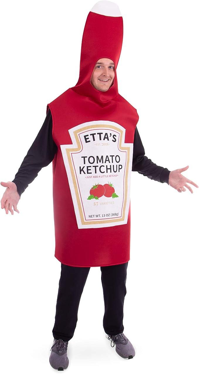 Amazon.com: Tomato Ketchup Disfraz de Halloween para adulto ...