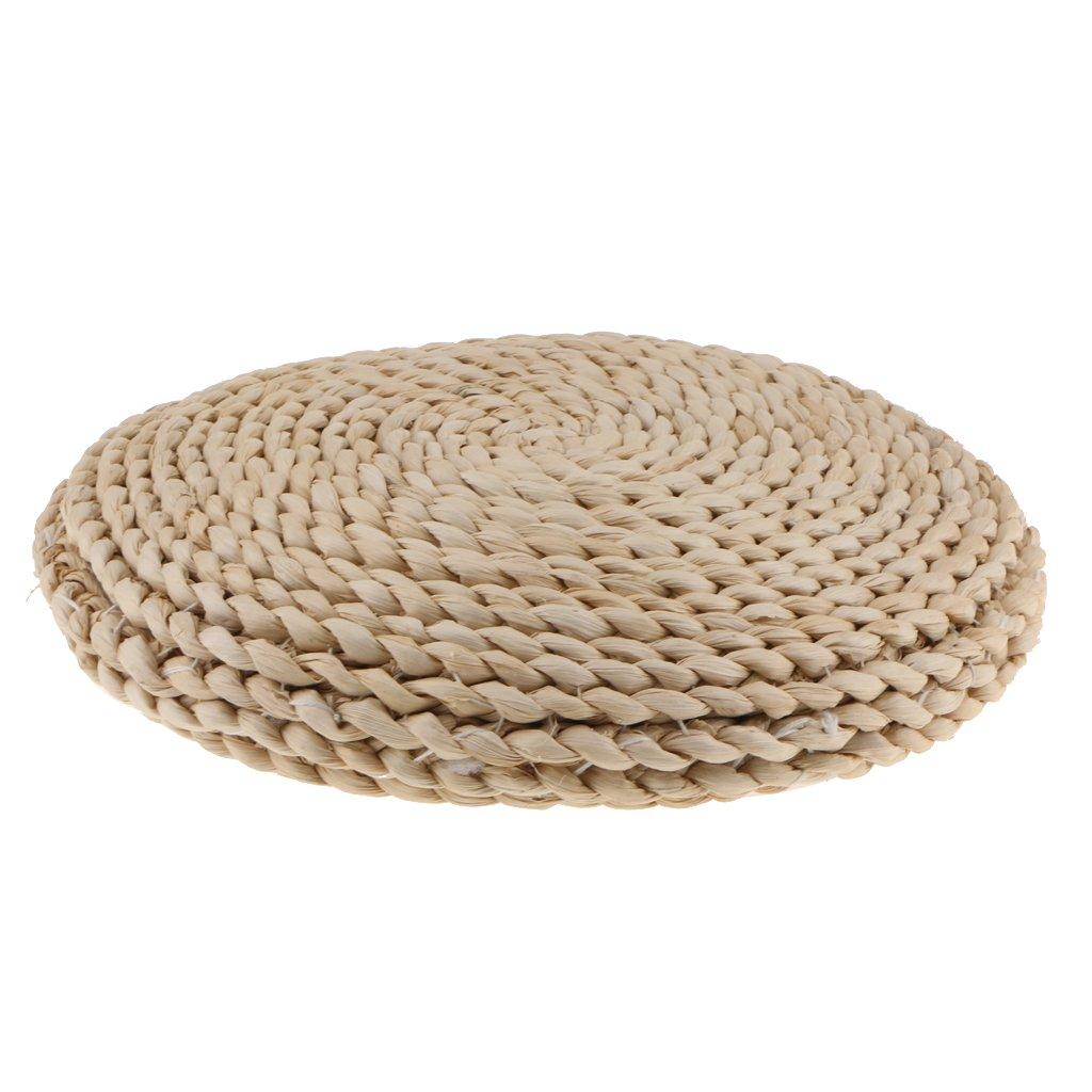 Jili Online Japanese Style Handmade Straw Woven Seat Cushion Tatami Dia. 30cm (11.81'')