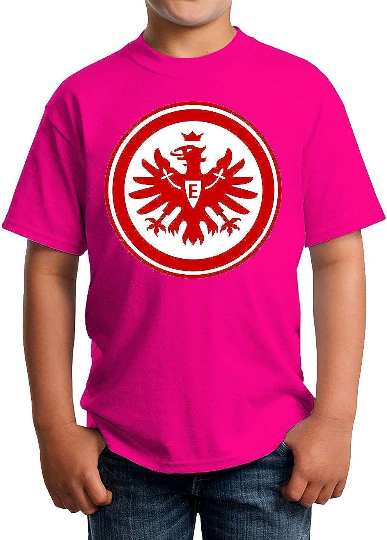 Eintracht Frankfurt Kinder Unisex T-Shirt 5-13 Ages White