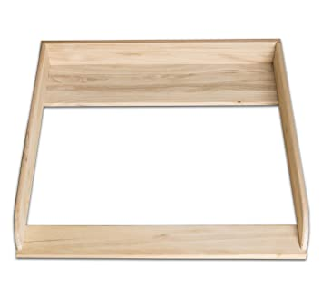 Natural Wood! Changer, Changing Table top for IKEA Hemnes (Without ...