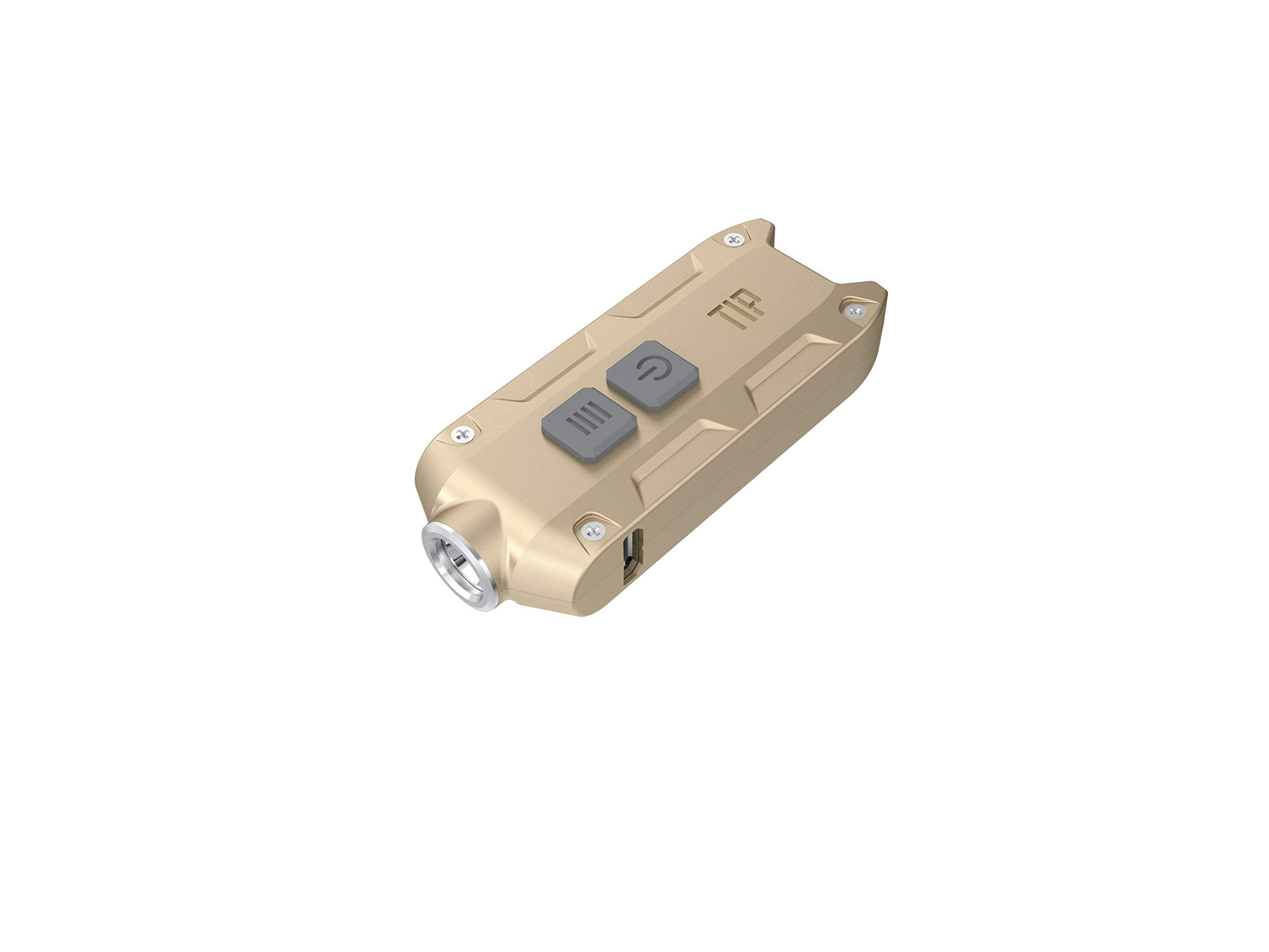 Linternas : Nitecore Tip 360 Lumens Light USB Recharg. Gold
