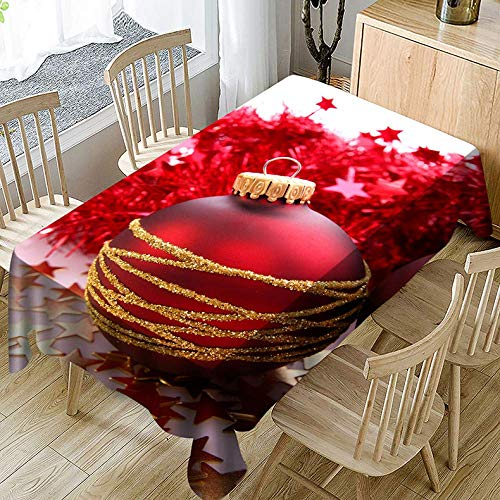 Speedmar Nappe Lavable en Polyester imperméable pour Salon de Table Basse