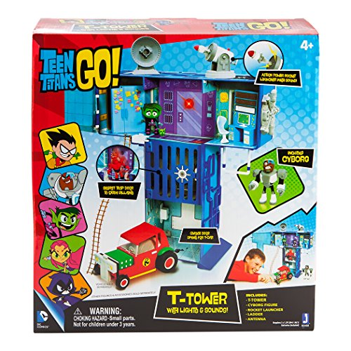 Teen Titan Toy : Teen titans go t tower playset new ebay