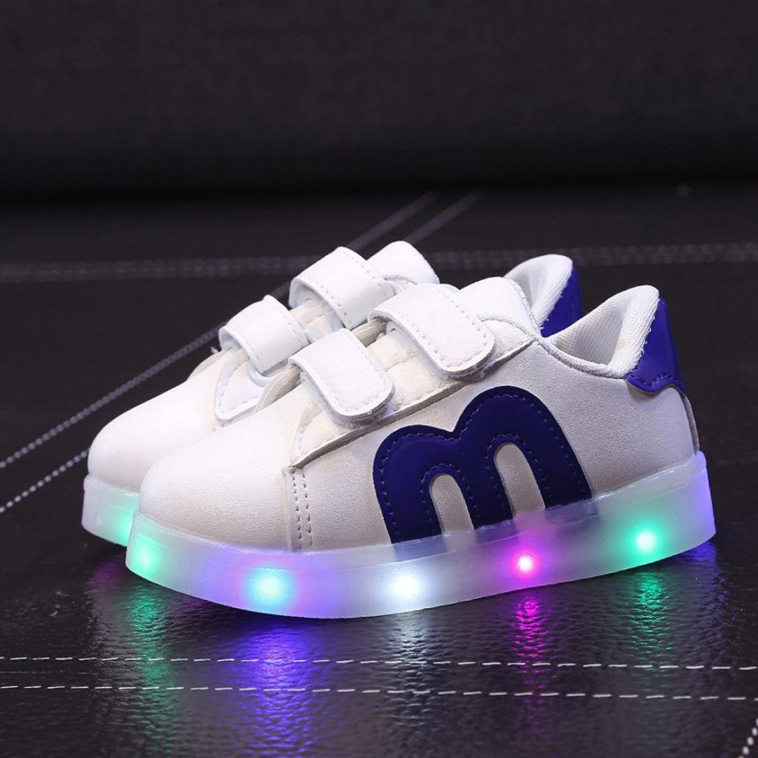 Coloré TM Unsex Mode Basket,LED Basket,LED Chaussures