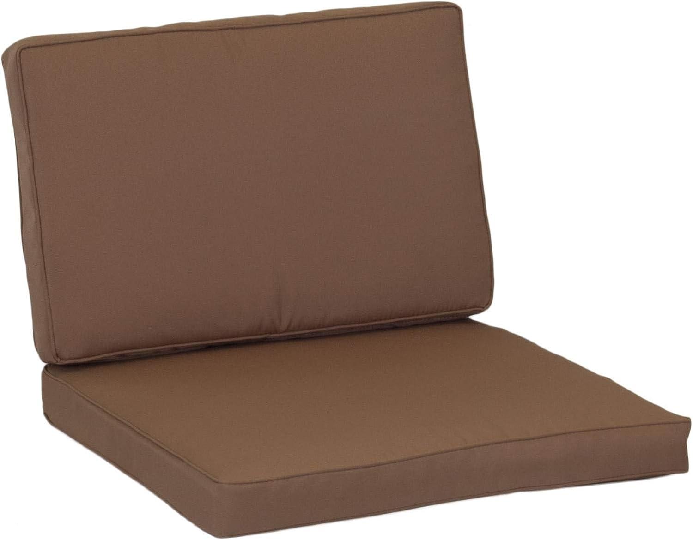 Sable /épaisseur 5/cm beo Lounge Coussin de Rechange pour kit de Monaco Groupes /échange Coussin imperm/éable Set de 8