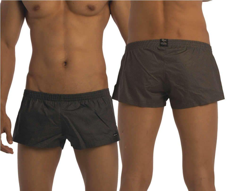 Groovin' Mens Grey Summer Boxer Short (Medium)