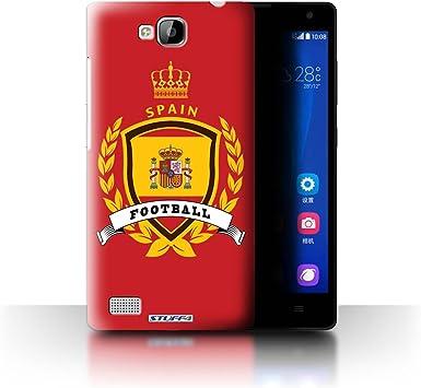 Stuff4® Carcasa/Funda Dura para el Huawei Ascend G620 / Serie: Emblema de fútbol: Amazon.es: Electrónica