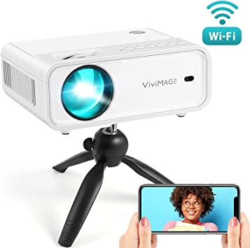 Vivimage Explore 2 Mini proyector, 4000 Lux HD 1080p Compatible ...