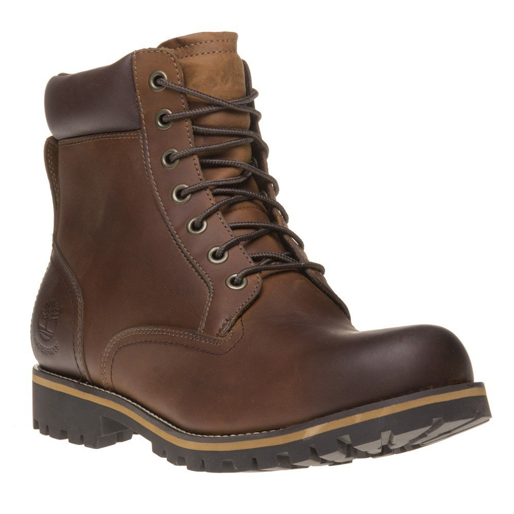 Timberland Men's Earthkeepers Rugged Boot, Red Brown, 12 M US
