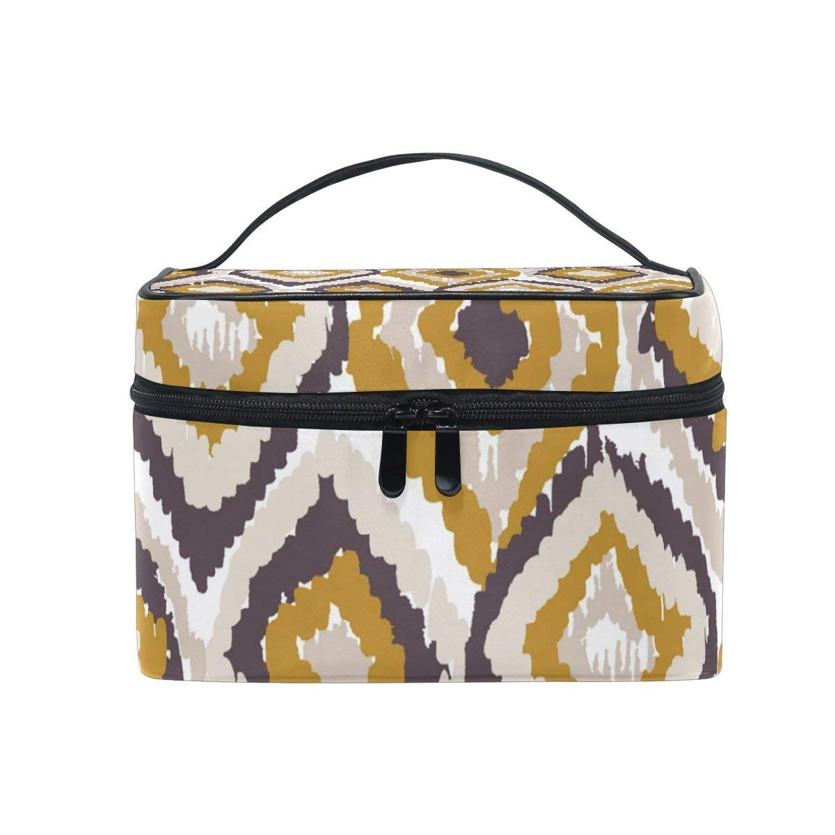 Cosmetic Case Bag Retro Indian Tribes Portable Travel Makeup Bag Toiletry Organizer