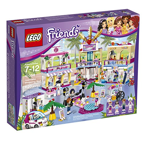 LEGO Friends Heartlake Shopping Mall Building Set - Shopping Mall Kids