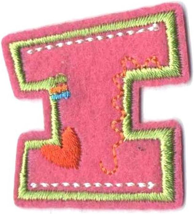 BestWahl - Parche bordado con las letras del alfabeto, para ...