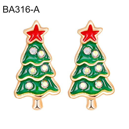 Desconocido angel3292 - Pendientes Unisex con diseño de árbol de ...