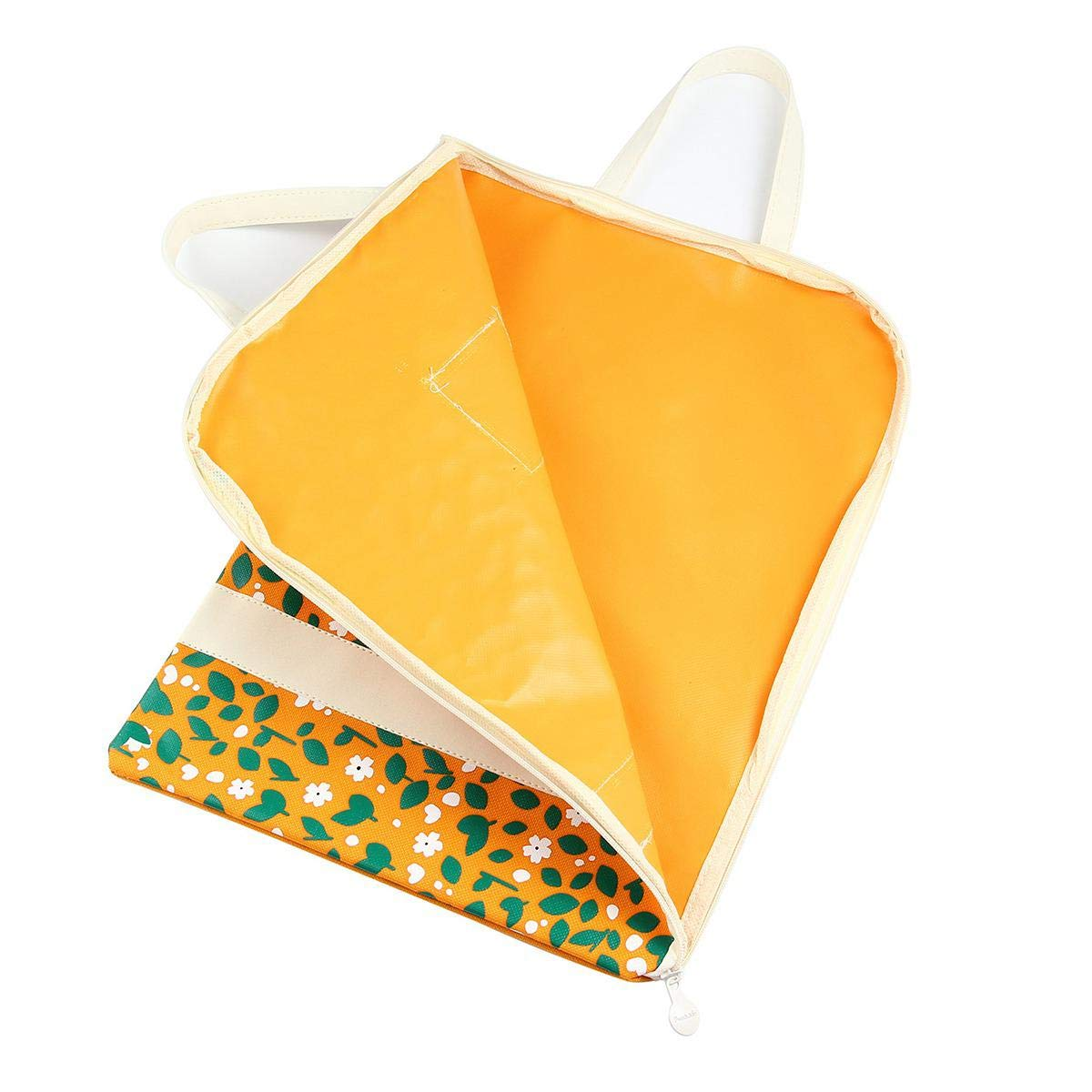 Portable A4/fichiers enveloppe /étanche Tissu Oxford Tissu Floral Document Sac fourre-Tout Support Lettre fichier Mode Housse de Transport