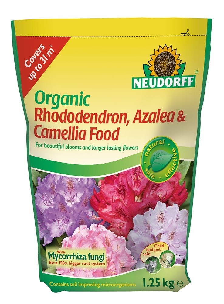 Neudorff - Organic Rhododendron, Azalea & Camellia Food (1.25kg)