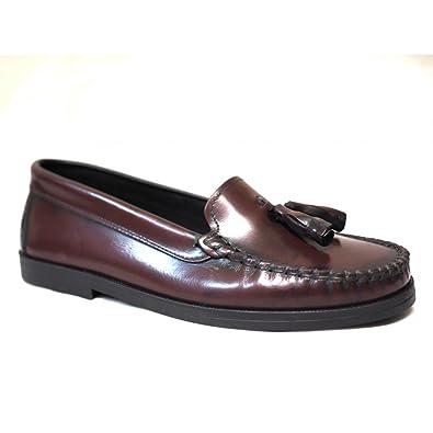 Zapatos FINANO Castellano BORLAS Burdeos: Amazon.es: Zapatos y complementos