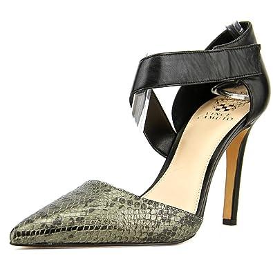 6b1f7a5b41b Amazon.com | Vince Camuto Carlotte 2 Women Pointed Toe Leather Black ...