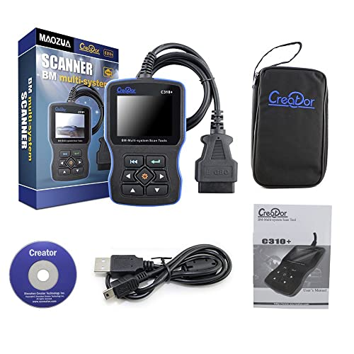 C310+ is a BMW car code reader suitable for technicians, DIYers, and auto shop owners.