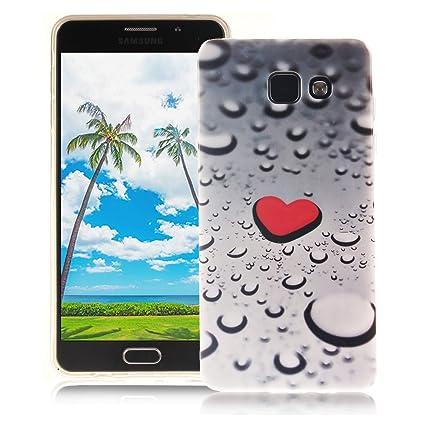 XiaoXiMi Funda Samsung Galaxy A5 2016 SM-A510F Carcasa de Silicona Caucho Gel para Samsung Galaxy A5 2016 SM-A510F Soft TPU Silicone Case Cover Funda ...
