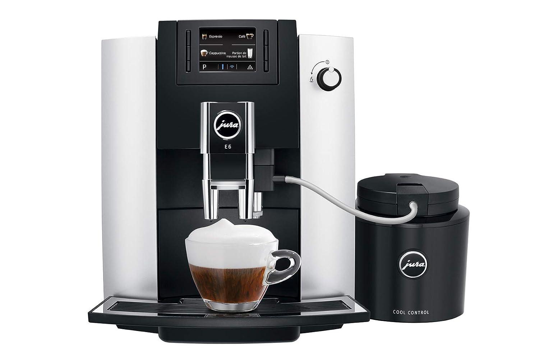 Amazon.com: Jura E6 Platinum - Cafetera automática con ...