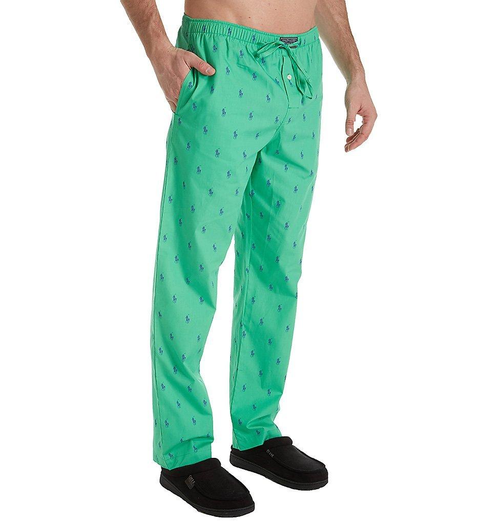 Polo Ralph Lauren Pony Player 100% Cotton Woven Pajama Pant (R082SR) M/Apple Liberty