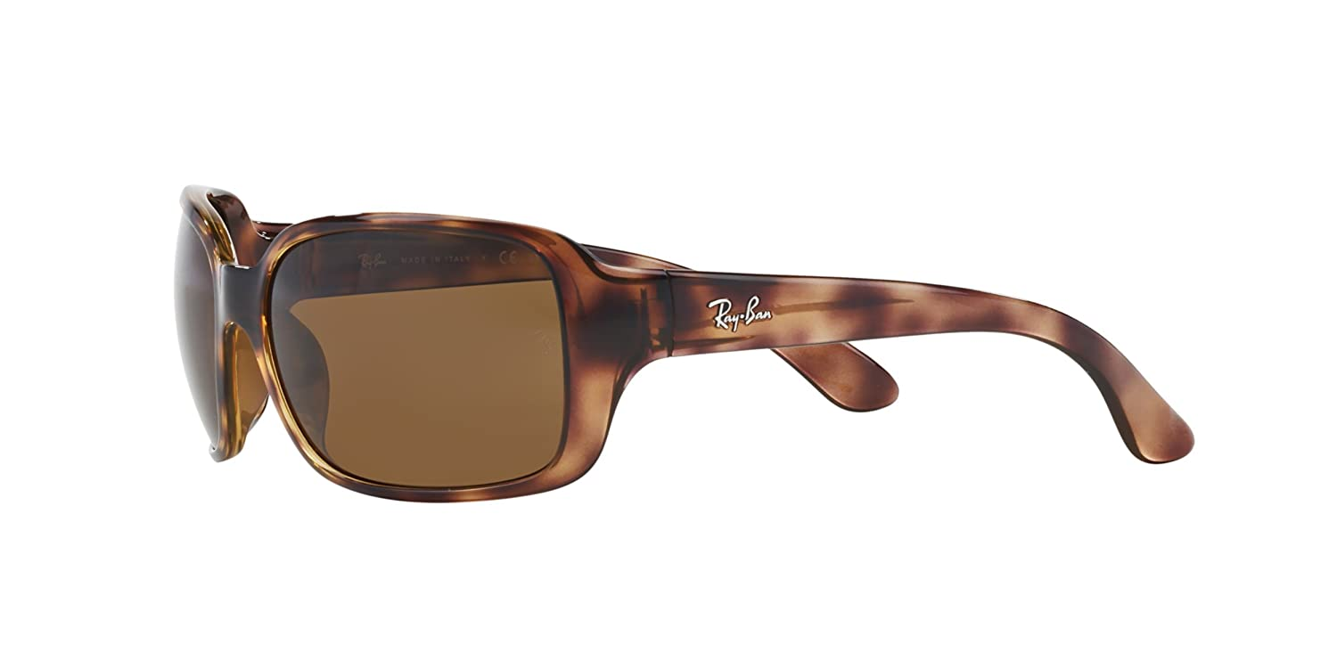 b3b49a1cfdf Amazon.com  New Ray Ban RB4068 642 57 Tortoise  Brown Classic B-15 60mm Polarized  Sunglasses  Clothing
