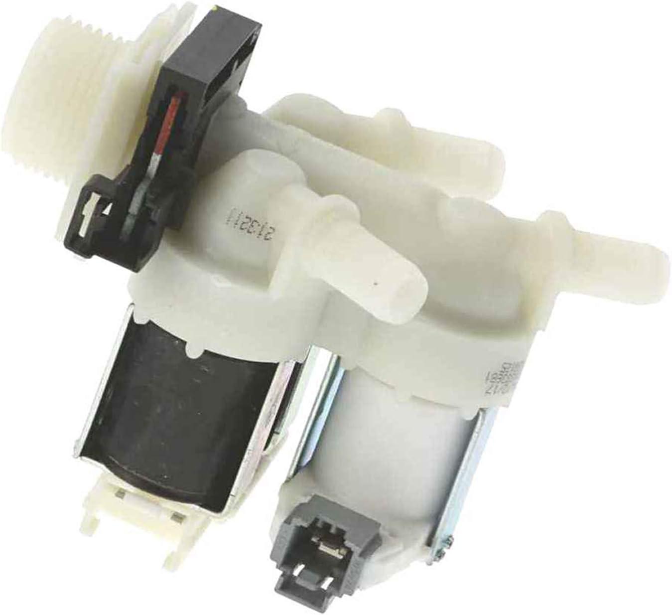 SpareHome® Electroválvula para lavadoras BOSCH, SIEMENS, BALAY, NEFF