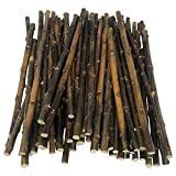 #4: 50 Nettleton Hollow Willow Wood Sticks, 8-12 inches long, 1/4-3/8 inch diameter