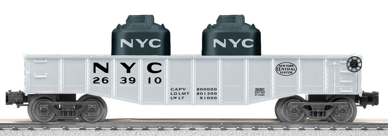 Lionel NYC Gondola with Containers